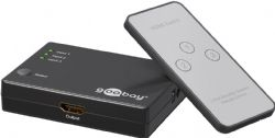 3 Port HDMI Switch With Remote Control | 1080p
